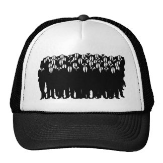 the people of anonymous trucker hat