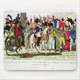 The People of Paris Acclaiming Napoleon Mouse Pad