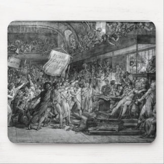 The People of Paris storm the Tuileries Mouse Pad
