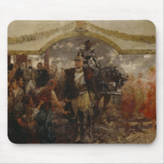 The People Render Homage to Bismarck, 1911 Mouse Pad