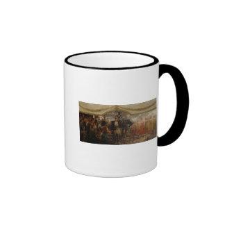 The People Render Homage to Bismarck, 1911 Ringer Mug