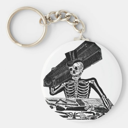 """""""The People's Calavera"""" circa 1800's Mexico Keychains"""