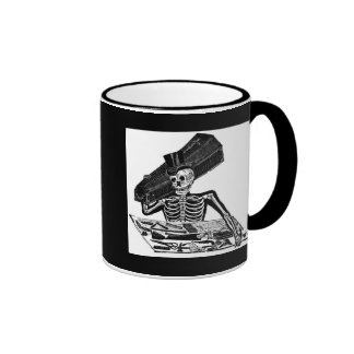 """The People's Calavera"" circa 1800's Mexico Coffee Mug"