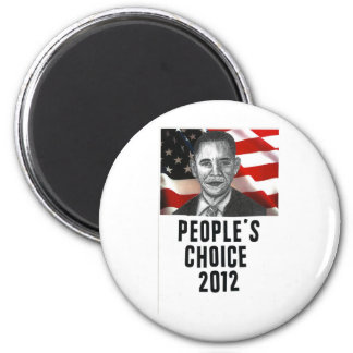 The People's Choice 2012 2 Inch Round Magnet