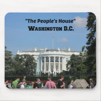 """The People's House, Washington D.C. Mouse Pad"