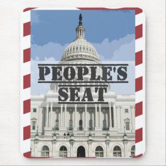 The People's Seat - Senator Scott Brown Mouse Pad