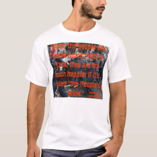 THE PEOPLES STICK Mikhail Bakunin T-Shirt