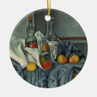 The Peppermint Bottle, 1893-95 (oil on canvas) Ceramic Ornament