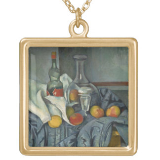 The Peppermint Bottle, 1893-95 (oil on canvas) Gold Plated Necklace