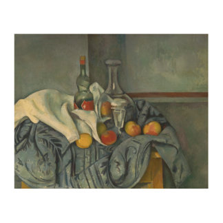 The Peppermint Bottle, 1893-95 (oil on canvas) Wood Print