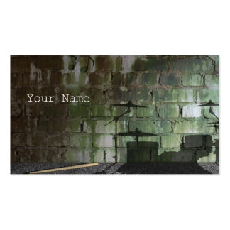 The Percussionist of a downtown area Double-Sided Standard Business Cards (Pack Of 100)