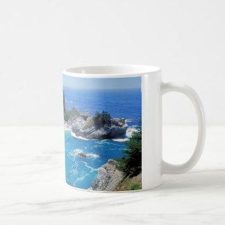 The perfect beach - Pfeiffer Big Sur Coffee Mugs