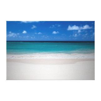 The Perfect Beach Wall Canvas Canvas Print
