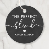 The Perfect Blend Coffee Gift Tag, Wedding Favor Tags
