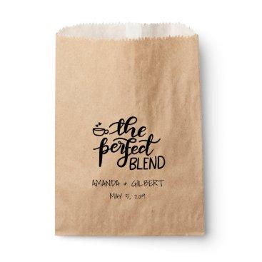 wedding_trends_now The Perfect Blend Rustic Kraft Paper Wedding Favor Favor Bag