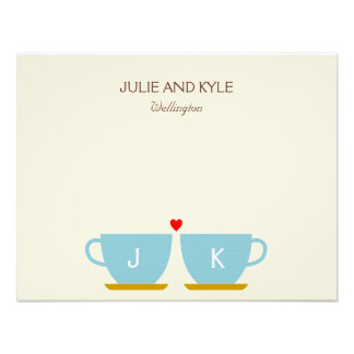 The Perfect Blend Thank You Cards Custom Invites