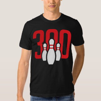 The Perfect Bowling Game Tee Shirt