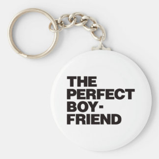 The Perfect Boyfriend - Black Keychain