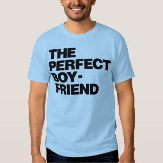 The Perfect Boyfriend - Black T-shirts