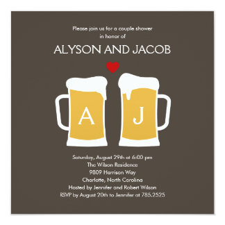 The Perfect Brew Engagement or Wedding Shower Card