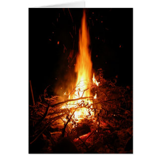 The Perfect Campfire Card