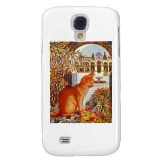 The Perfect Cat Artwork by Louis Wain Samsung Galaxy S4 Case