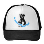 The perfect child is a great dane trucker hat