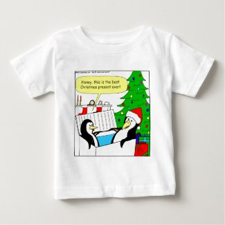 The perfect Christmas gift for a penguin cartoon Baby T-Shirt