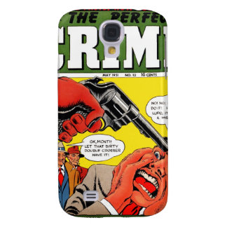 The Perfect Crime #12 Galaxy S4 Covers
