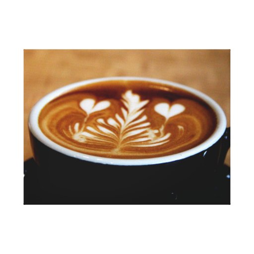 The Perfect Cup Canvas Print