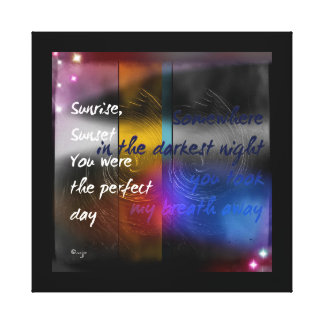 The Perfect Day Canvas Print