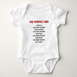 The Perfect Day - Flight Simulator Baby Bodysuit