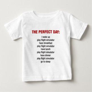 The Perfect Day - Flight Simulator Baby T-Shirt