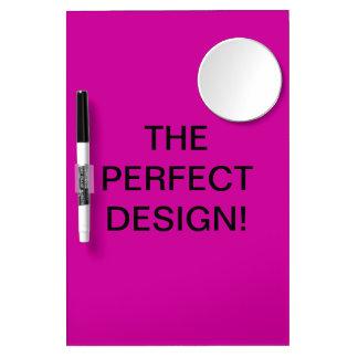The perfect design mirror and pen erase board