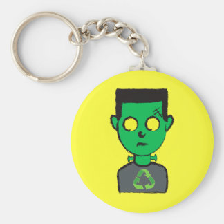 The perfect eco-friendly project basic round button keychain