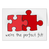 The Perfect Fit | Valentine's Day Card