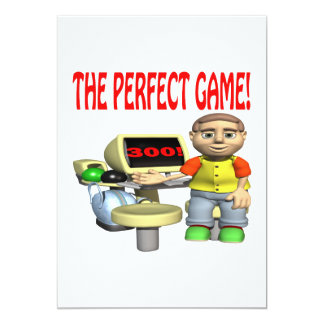The Perfect Game Card