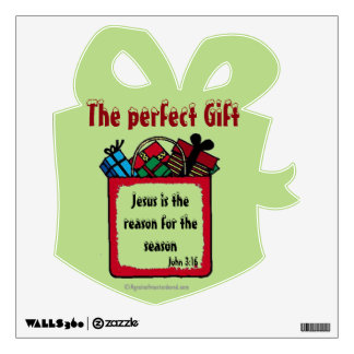 The Perfect Gift Christmas Wall Decal