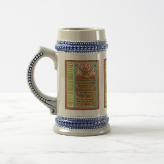The Perfect Law of Liberty Beer Stein