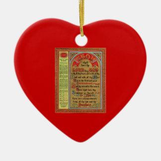 The Perfect Law of Liberty Ceramic Ornament