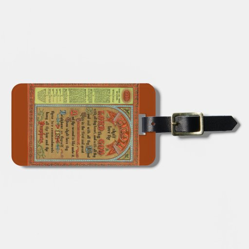 The Perfect Law of Liberty Luggage Tag