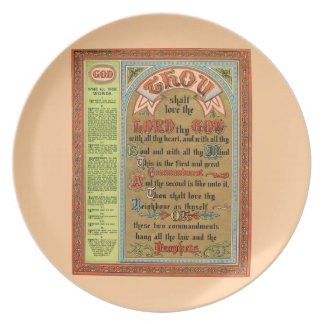 The Perfect Law of Liberty Melamine Plate