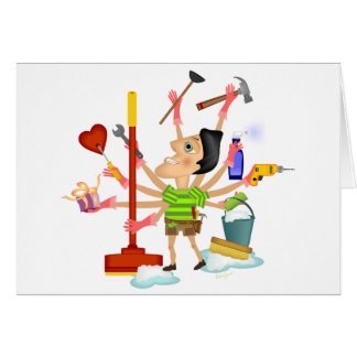 The Perfect Man in Love Stationery Note Card