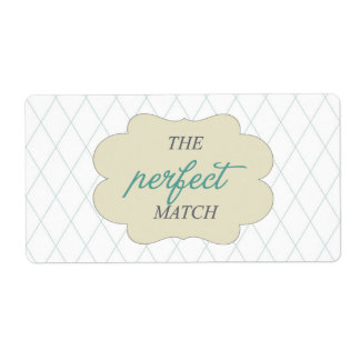 the perfect match label