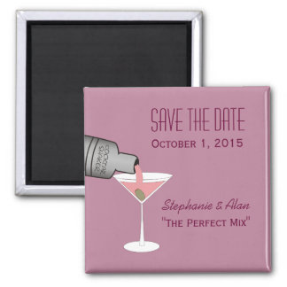 The Perfect Mix Save The Date Magnet