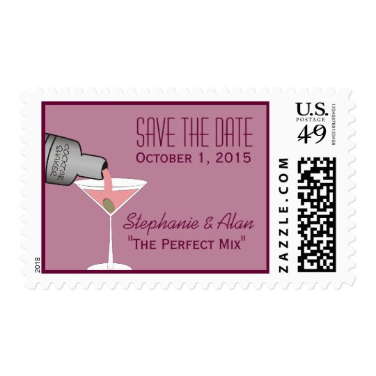 The Perfect Mix Save The Date Postage
