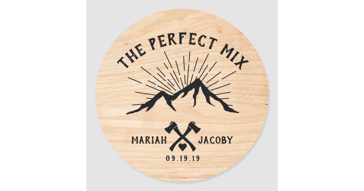 Perfect Mix Wedding Favor Diy Trail