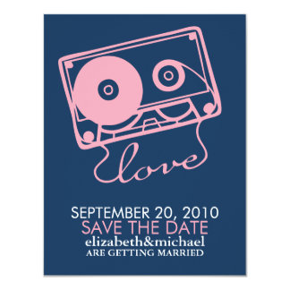 The Perfect Mix Wedding Save the Date Card