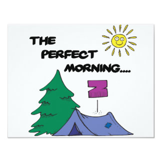 The Perfect Morning Card
