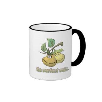 the perfect pair pears coffee mug